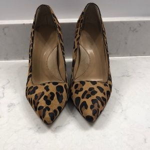 Leopard print pumps from Banana Republic